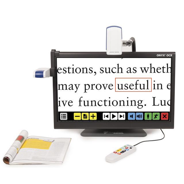 ONYX® OCR -Taşınabilir Uzak Görüntü Kameralı Okuma Sistemi