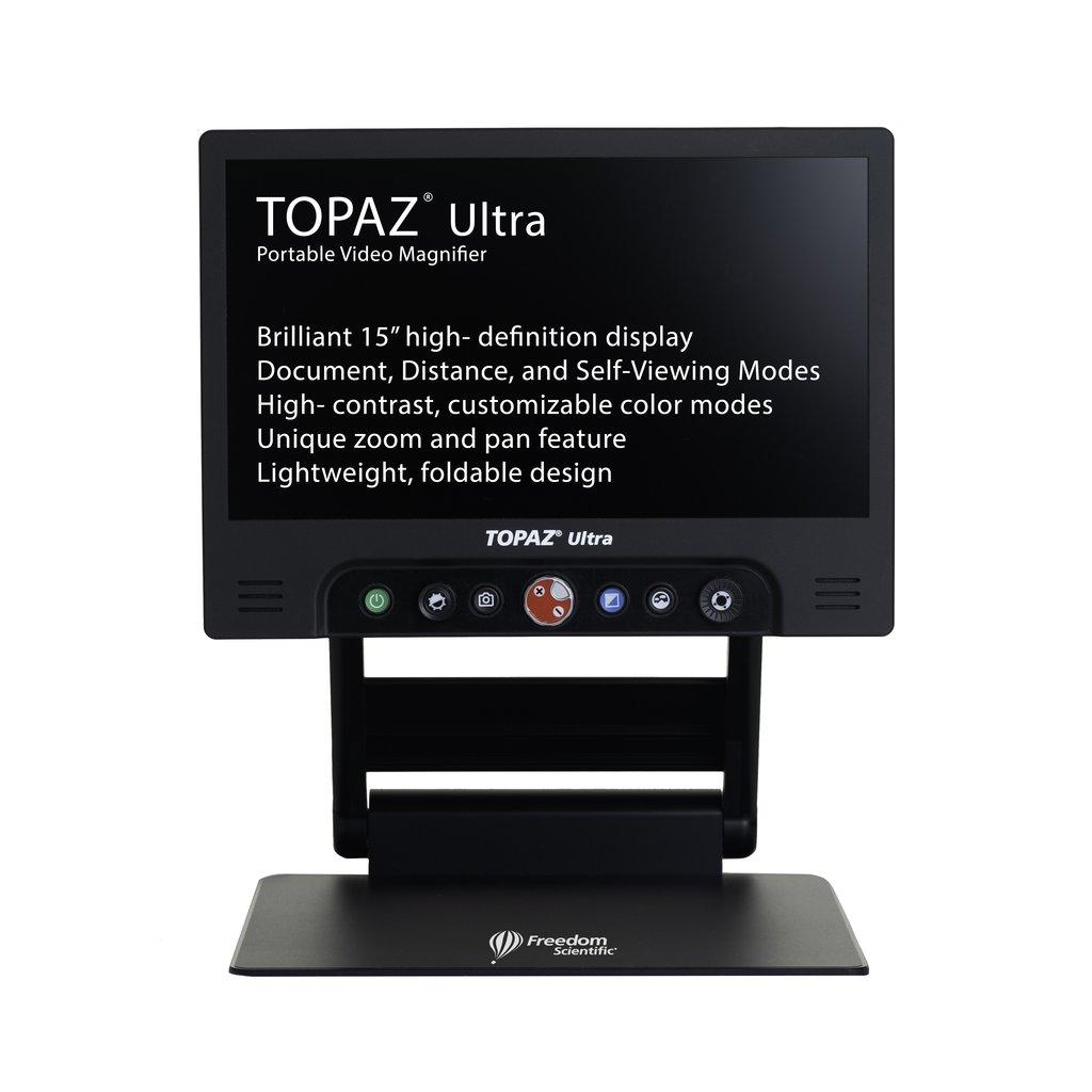 TOPAZ ULTRA Taşınabilir Video Büyüteci