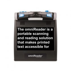 omniReader®Taşınabilir anlık Büyütme ve Okuma Makinesi